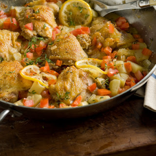 Braised Chicken and Vegetables