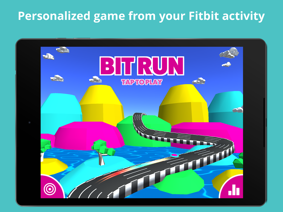 BitRun for Fitbit- screenshot