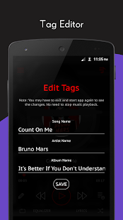 Crimson Music Player - MP3, Lyrics, Playlist Screenshot