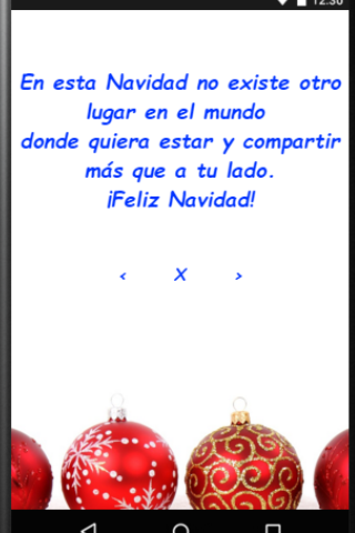 android Feliz Navidad para Whatsapp Screenshot 5
