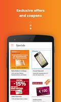 Screenshot of mobile-pocket loyalty cards