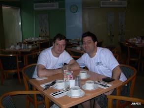 Photo: Desayunando en el Hotel Howard Johnson de Curazao