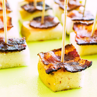 Pear and Bacon Bites.
