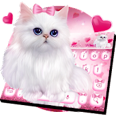 Lovely Cat Keyboard Theme