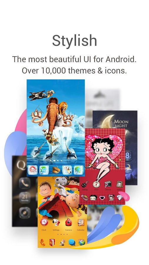 GO Launcher- Free Themes & HD Wallpapers- screenshot