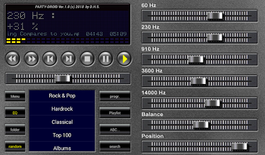 Party Droid - MP3 player - Apps on Google Play