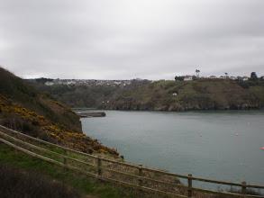 Photo: From Fishguard to Newport (Fishguard Bay)