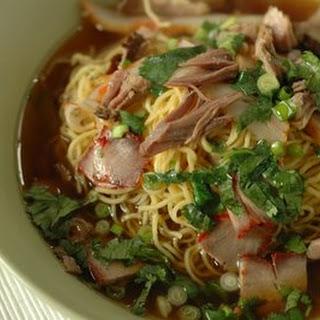 Braised Pork Shank Noodle Soup
