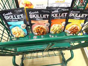Photo: I decided I needed to purchase all the varieties of the Campbell's Skillet Sauces to try!