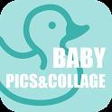Baby Pics & Collage icon