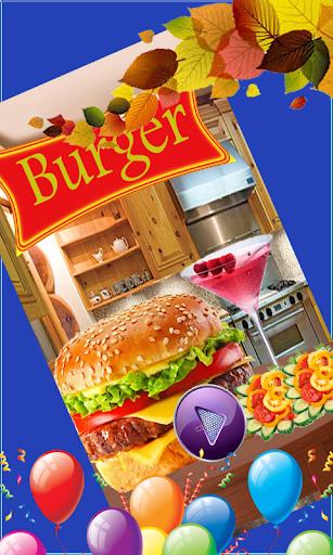 Burger Maker - Kids Cooking