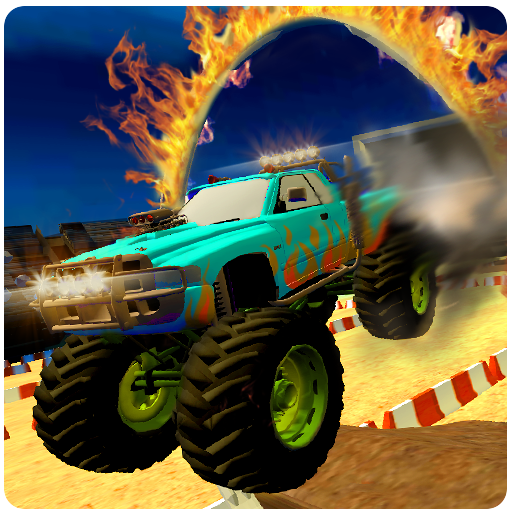 Monster Truck Destruction Derby Stunts