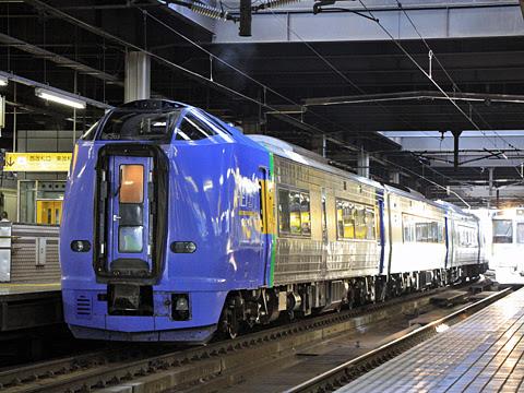 JR北海道 261系「宗谷」_01 札幌駅にて
