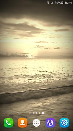 玩個人化App Sunset Beach Live Wallpaper免費 APP試玩