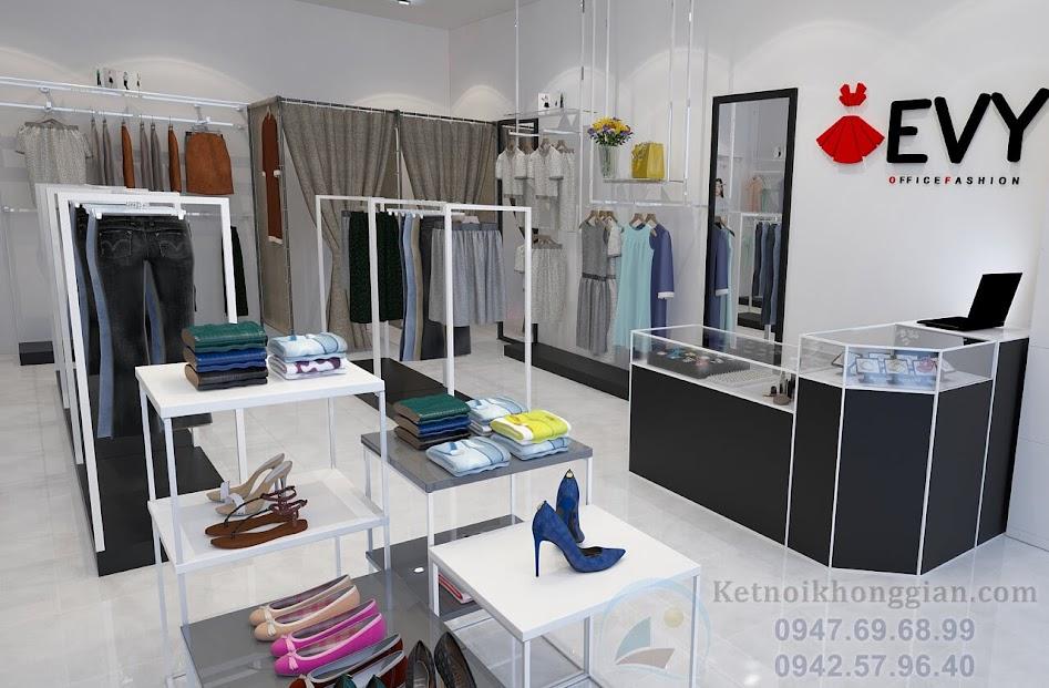 thiết kế shop thời trang công sở đẹp nhât tp bắc cạn