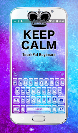 Cool Keep Calm Keyboard Theme 6.1.21 screenshot 1196678