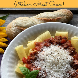 Bolognese Meat Sauce Mushroom Recipes