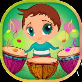 As crianças do tambor