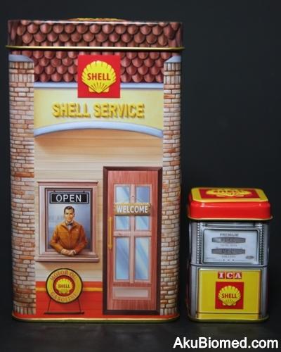 Stesen minyak Shell tahun 1960an