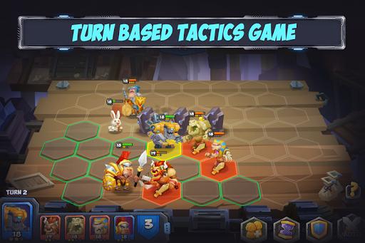 Tactical Monsters Rumble Arena -Tactics & Strategy  screenshots 1