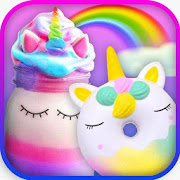 Unicorn Foods Chef - Girls Donuts Milkshake Bakery