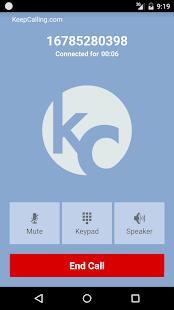 KeepCalling – Best Calling App- screenshot thumbnail