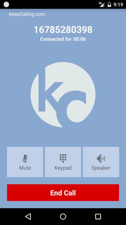 KeepCalling – Best Calling App- screenshot
