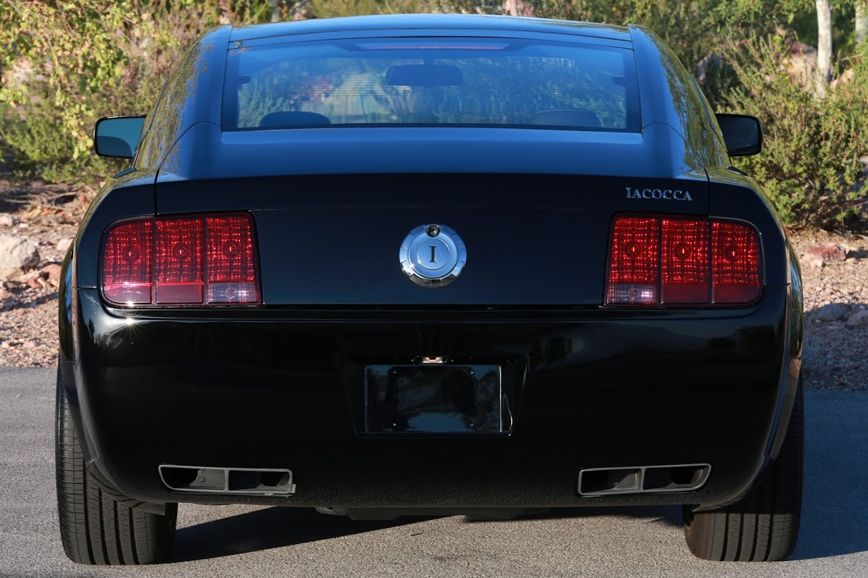 2009 Ford Mustang IACOCCA 45TH ANNIVERSARY 4045 PANORAMIC ROOF