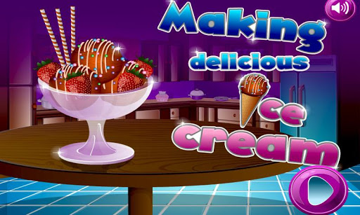 アイスクリームメーカークッキングゲーム