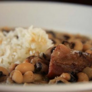 Black Eyed Peas & Ham Hocks Recipe