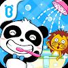 Au bain, bébé panda - Hygiène