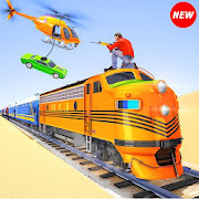Train Robbery Car Theft - Train Transport Games