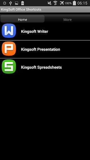 Top KingSoft Office Shortcuts