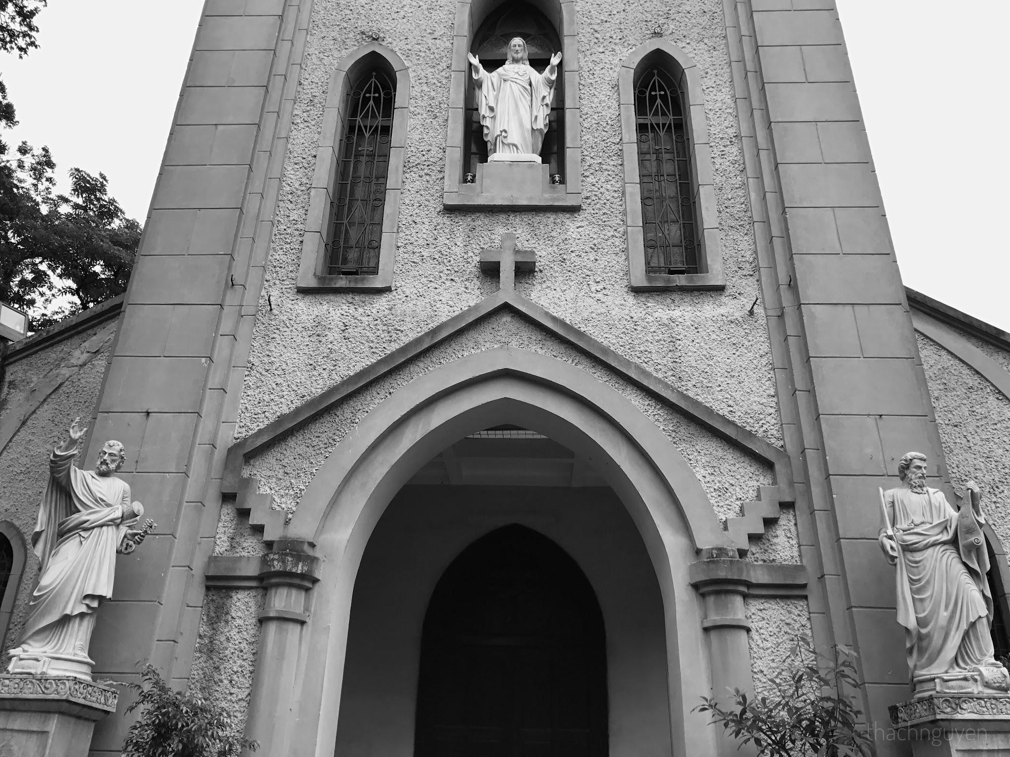 Tháp chuông nhà thờ Hàm Long