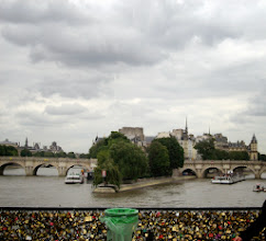 Photo: Lock Bridge on Seine River, Paris, France