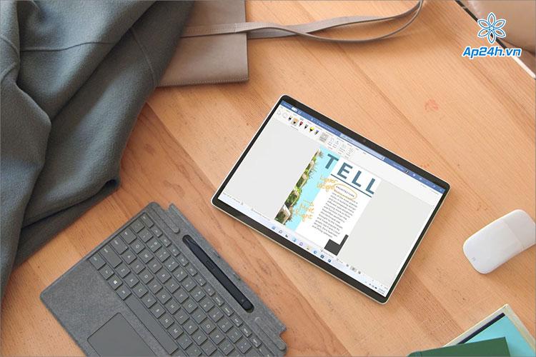Surface Pro 8 được Microsoft nâng cấp rất nhiều sức mạnh