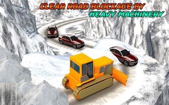 Winter Snow Rescue Excavator - screenshot thumbnail 10