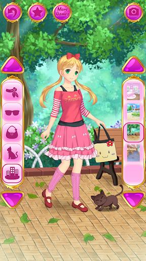 Игры аниме одевалки Бесплатные аниме игры для девочек