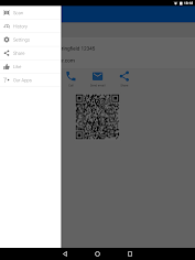 एंड्रॉइड / पीसी के लिए QR & Barcode Scanner PRO ऐप्स screenshot