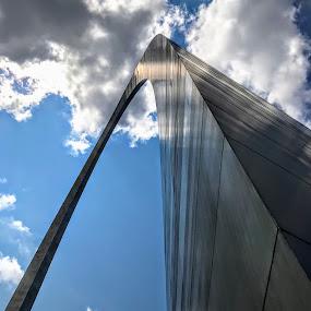 The Gateway Arch by Michael Smith - Buildings & Architecture Public & Historical ( arch, us park service, monument, jefferson national expansion memorial, saarinen, architecture, st. louis )