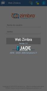 Web Zimbra PRO 5