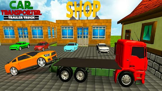 Car Transporter Cargo truck 2019 3