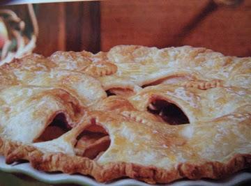 Orange-glazed Apple Pie Recipe