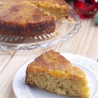 Pineapple Salted Caramel Upside Down Cake