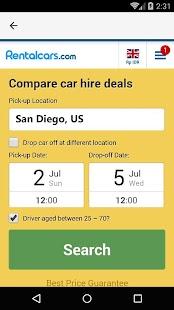 San Diego Car Rental, US - náhled