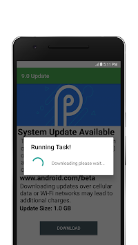 Download Update to Android P - 9 0 APK latest version app