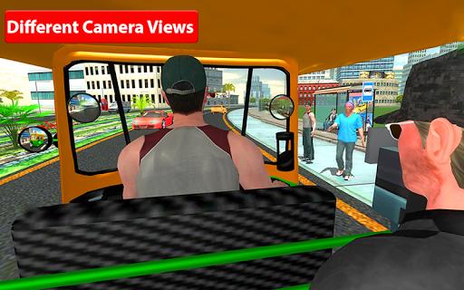 Rickshaw Driving Simulator - Drive New Games screenshots 4