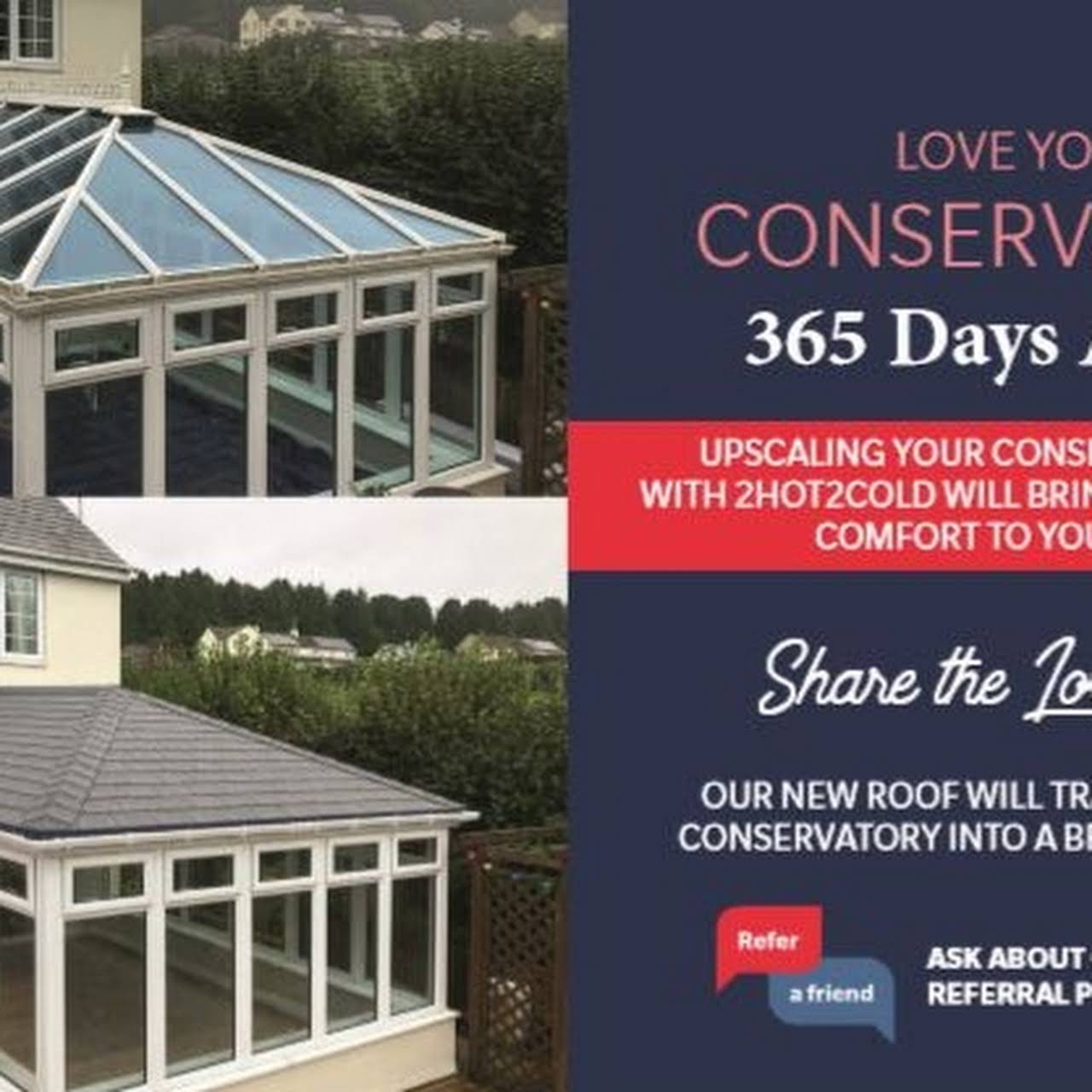 2hot2cold Ltd Insulated Conservatory Ceilings
