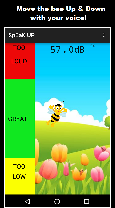 Speak Up: An SPL Meter- screenshot
