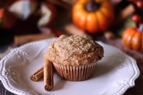 "Pumpkin Cinnamon Streusel Muffins""Pumpkin Muffins are still my all-time favorite baked goods,..."